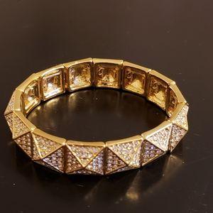 💕RJ Graziano Gold Crystal Bracelet